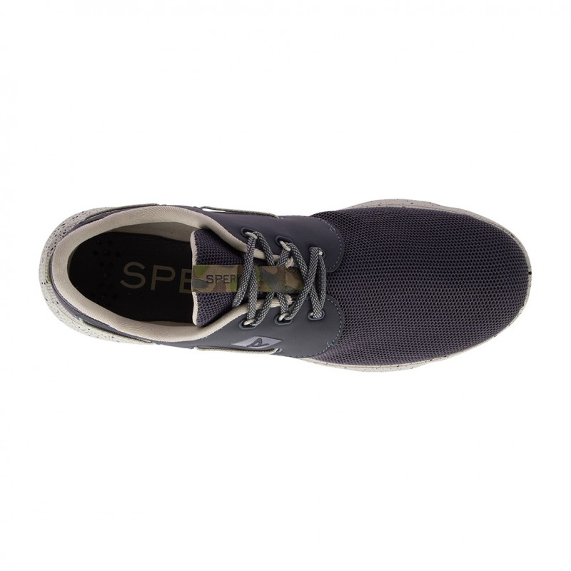 Sperry 7 Seas 3-Eye Camo S925 PEAT