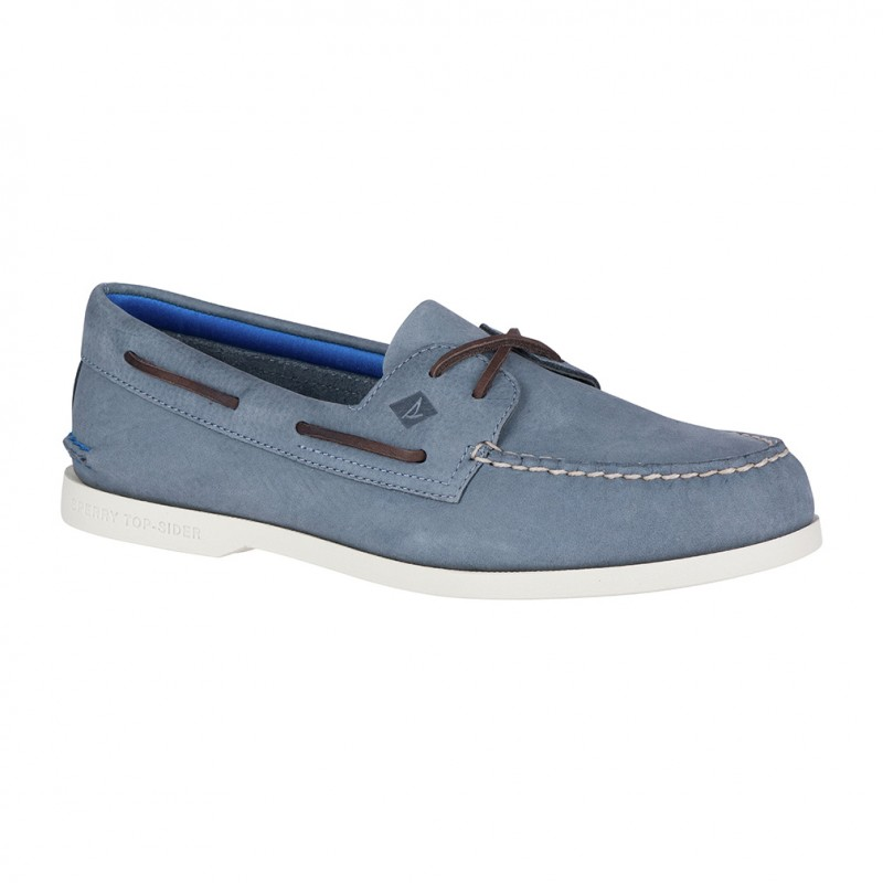 Sperry A/O 2-Eye Plush Washable S021 BLUE