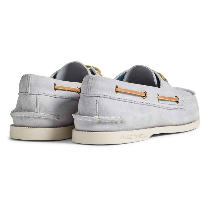 Authentic Original 2-Eye Suede white sole S221 GREY