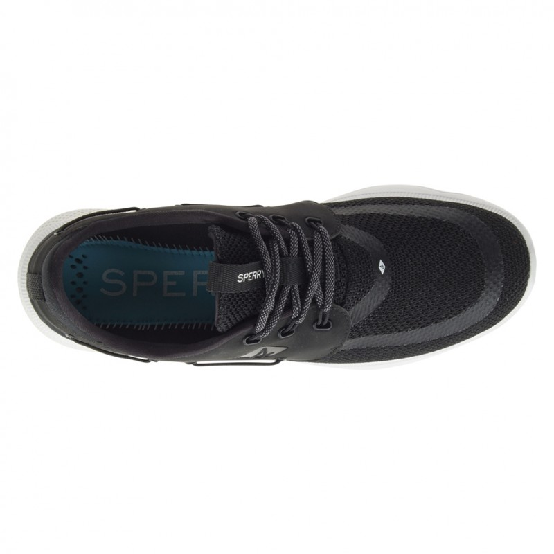 Sperry 7 Seas 3-Eye S008 BLACK