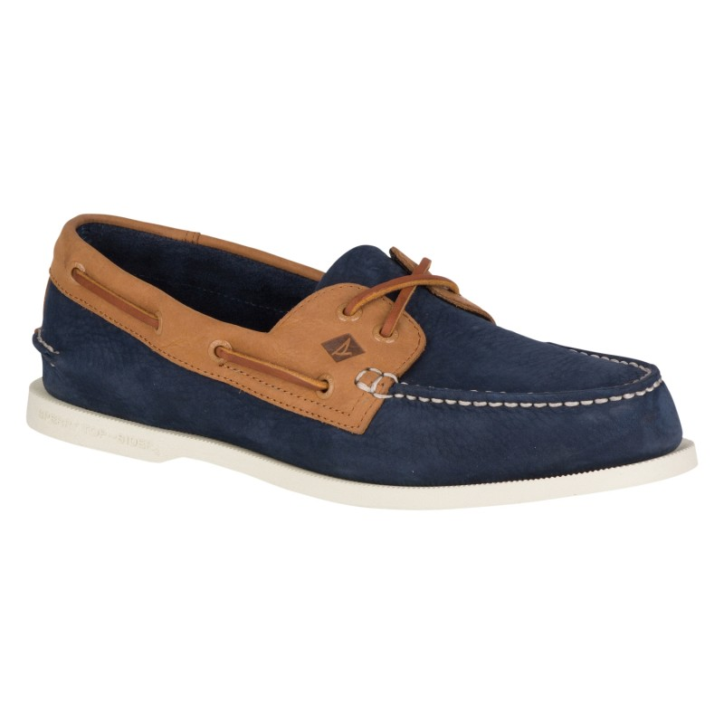 Authentic Original 2-Eye Washable  S265 NAVY/TAN