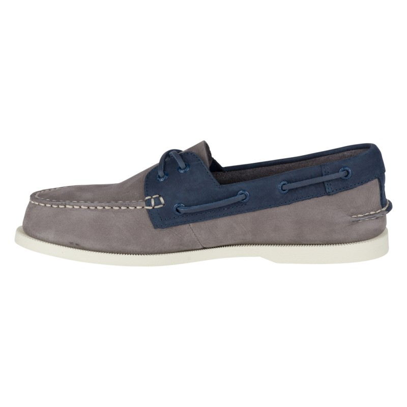 Sperry A/O 2-EYE Washable *NEW* S779 CHARCOAL/NAVY