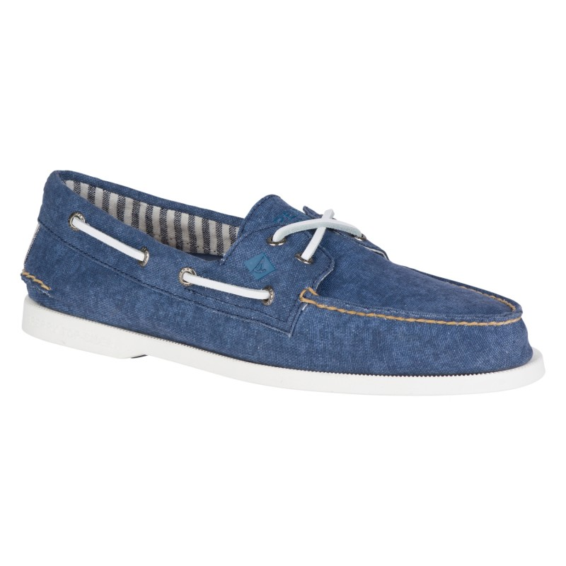 Sperry A/O 2-EYE Washed *NEW* S091 NAVY