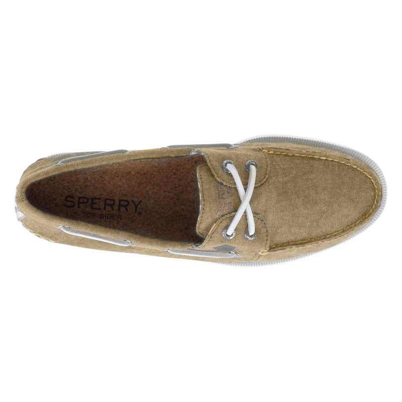 Sperry A/O 2-EYE Washed *NEW* S732 CHINO