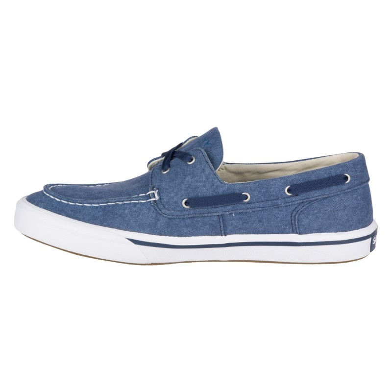 Sperry Striper II Boat Washed *NEW* S091 NAVY