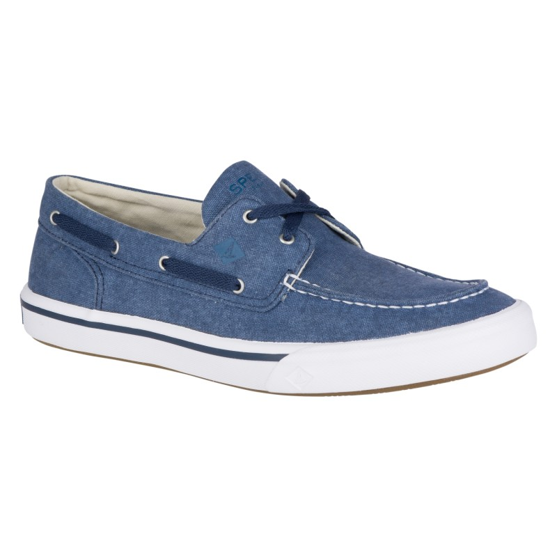 Sperry Bahama II Boat Washed *NEW* S091 NAVY