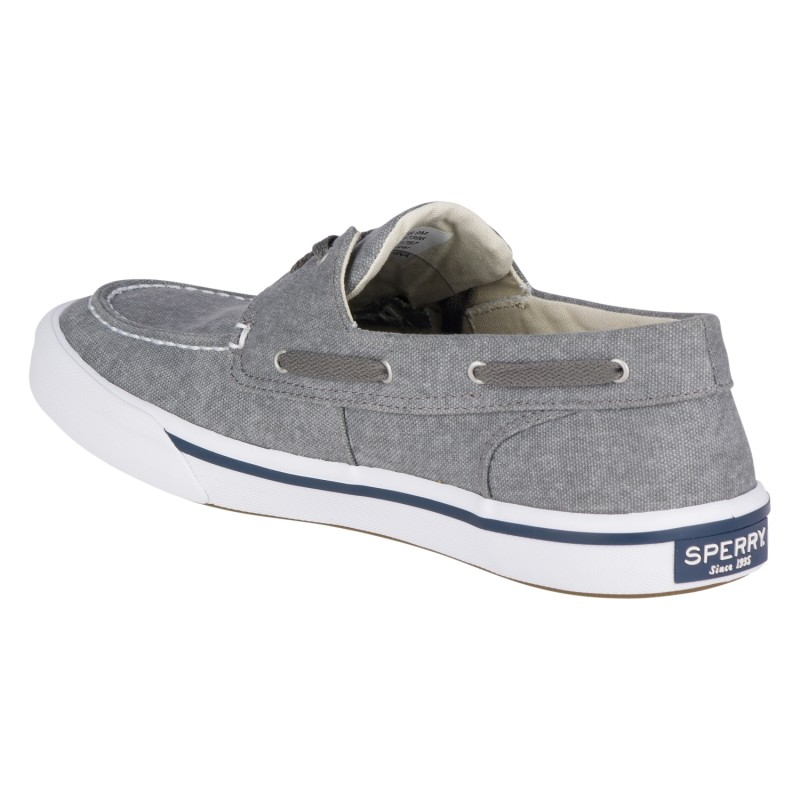 Sperry Bahama II Boat Washed *NEW* S221 GREY