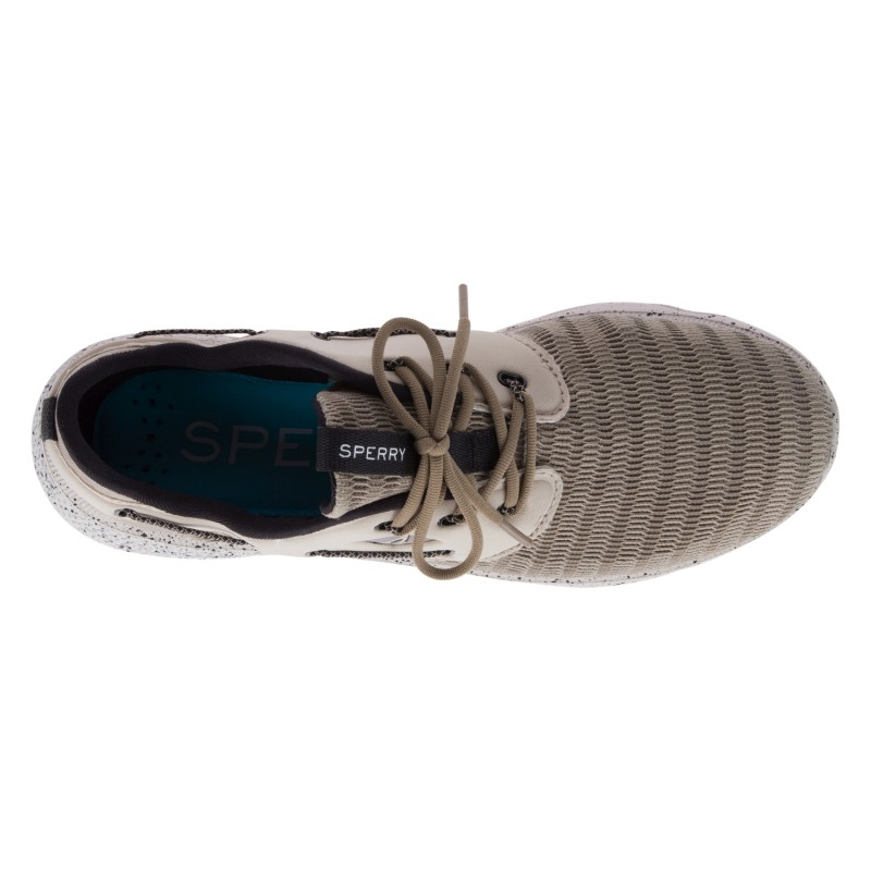 Sperry 7Seas 3-Eye Mesh *NEW* S174 TAUPE