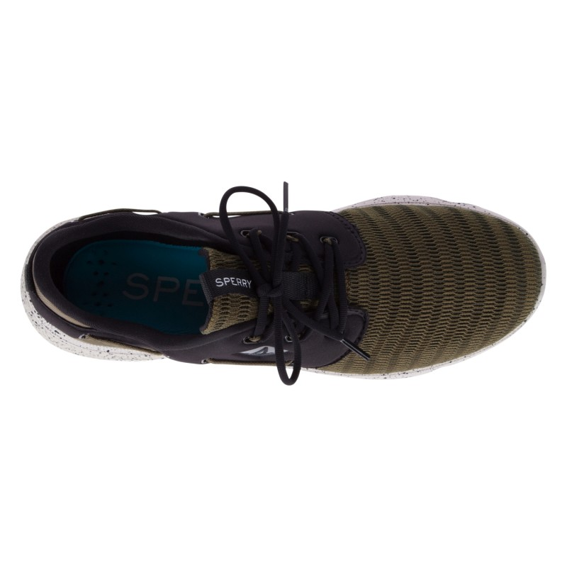Sperry 7Seas 3-Eye Mesh *NEW* S364 OLIVE