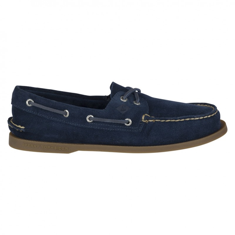 Authentic Original 2-Eye Suede S091 NAVY