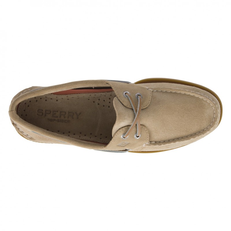 Authentic Original 2-Eye Suede S028 SAND