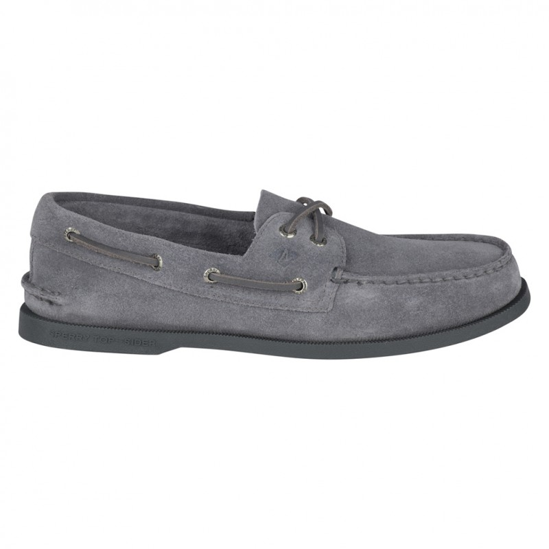 Authentic Original 2-Eye Suede S221 GREY