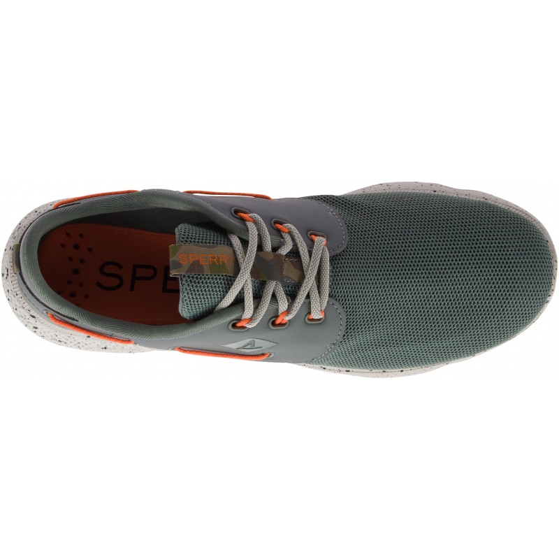 Sperry 7 Seas 3-Eye Camo S364 OLIVE